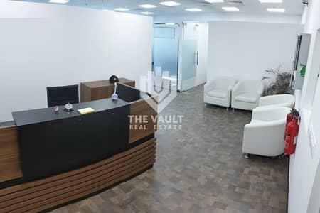 مکتب  للبيع في الخليج التجاري، دبي - Fitted and Furnished | Amazing Burj View