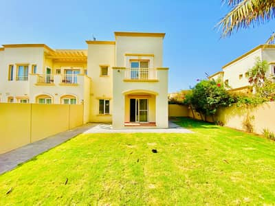 3 Bedroom Villa for Rent in The Springs, Dubai - Very Well Maintained | 3BR+Study+Maid-room | Type 2E | Back To Back