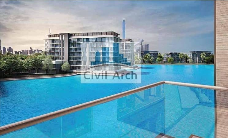 Lagoon Facing Lovely 2br+Furnished+50/50 plan