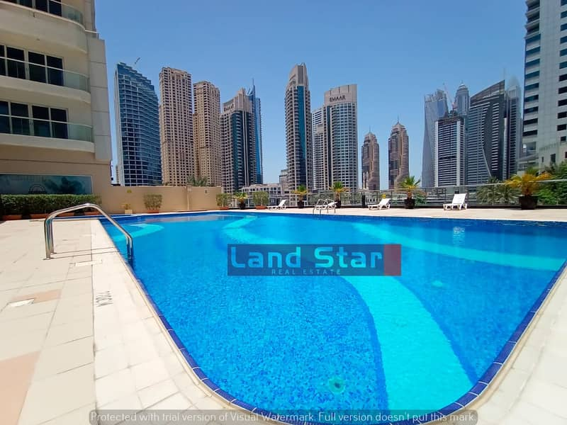 Gorgeous 2 bedroom apartment taste fully furnished WITH BEST PRICE on a high floor in MARINA VIEW T
