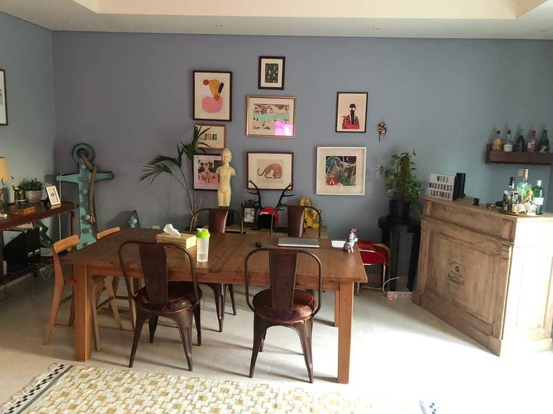 3 Bedroom plus maid room semi attached villa in Dubai Style Al Furjan