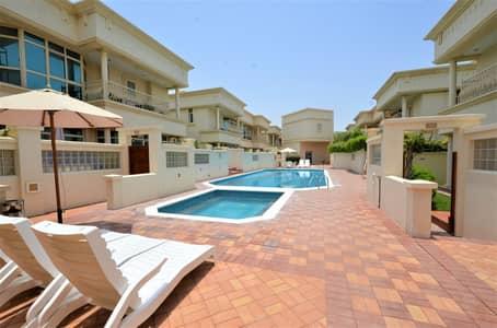 4 Bedroom Villa for Rent in Al Safa, Dubai - Fabulous family compound villa shared Pool