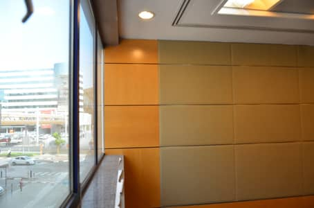 Office for Rent in Bur Dubai, Dubai - Must-see Brand New Office For Rent- Free Dewa & Wifi | Close to Metro Station