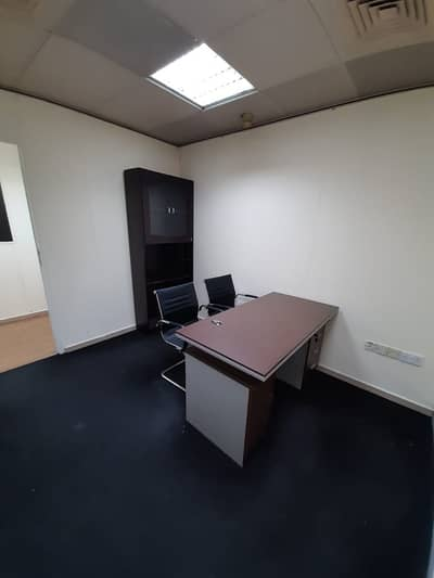 Office for Rent in Deira, Dubai - NO COMMISSION|DESK SPACE FOR 1 YEAR EJARI | FREE PARKING| MEETING ROOM|DEWA |WIFI