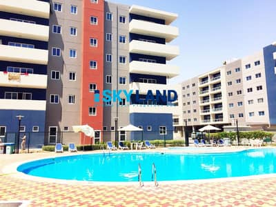 3 Bedroom Flat for Sale in Al Reef, Abu Dhabi - TYPE A ! 3BR + Maids w/ Closed Kitchen ! Swimming Pool views