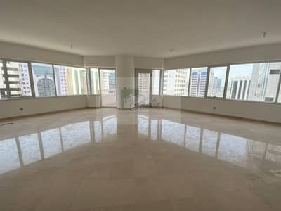 3 Bedroom Apartment for Rent in Tourist Club Area (TCA), Abu Dhabi - Truly Large: Partial Sea View:3 BR with MR