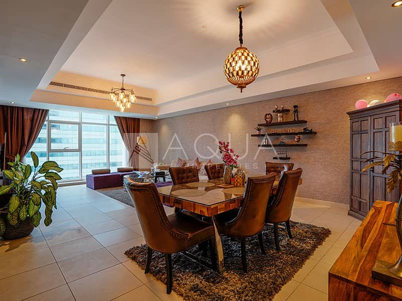 2 Luxurious Fully Furnished 2BR | Lake View