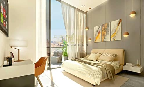 Studio for Sale in Masdar City, Abu Dhabi - Fully Furnished! Great Investment! 1% Payment Plan