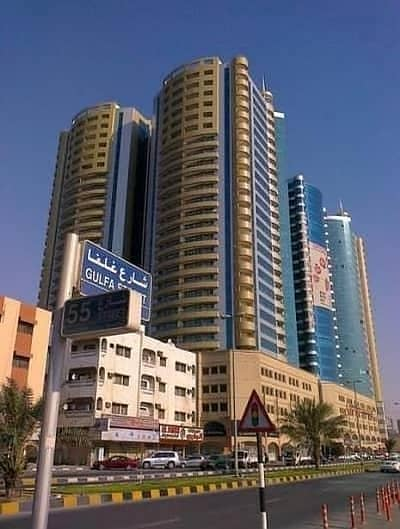 2 Bedroom Flat for Sale in Ajman Downtown, Ajman - Full Sea view  2bhk  with Parking for Sale  in Horizon Tower