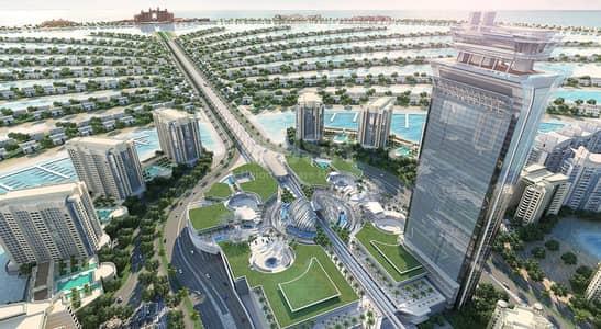 فلیٹ 1 غرفة نوم للبيع في نخلة جميرا، دبي - The Palm Tower I Nakheel Properties
