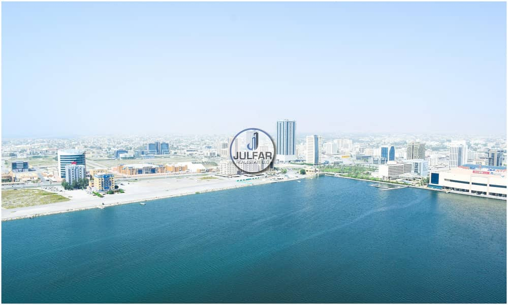 2 Furnished Office| For RENT Julphar Tower| SEA VIEW