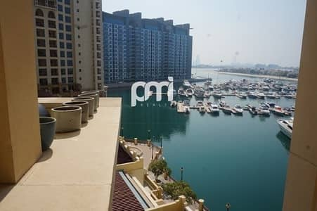 2 Bedroom Flat for Rent in Palm Jumeirah, Dubai - Big Size | Marina View | with Maid's