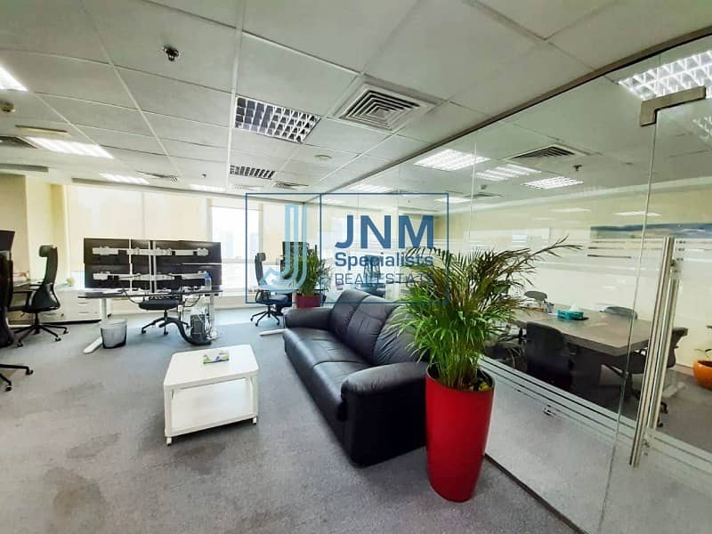 Fitted Office | Close to JLT Metro | High Flor
