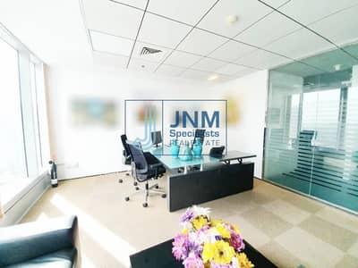 مکتب  للايجار في أبراج بحيرات الجميرا، دبي - Elegant Fully Furnished Office   High Floor