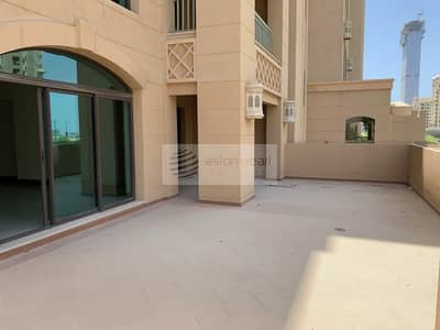 2 Bedroom Apartment for Sale in Palm Jumeirah, Dubai - Extended Terrace Overlooking Park | 2BR+Maid's