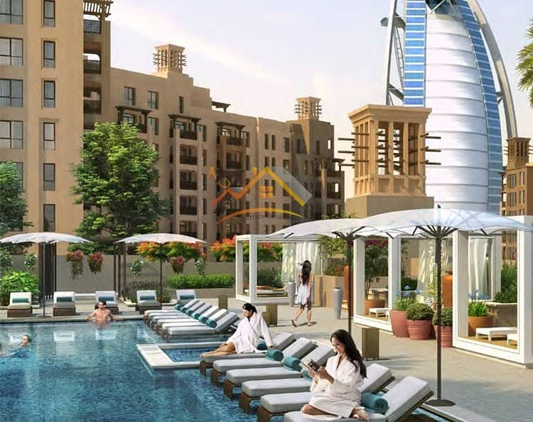 ***FACING BURJ AL ARAB | PAY ONLY 5% DOWNPAYMENT | NO COMMISSION