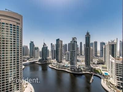 فلیٹ 2 غرفة نوم للبيع في دبي مارينا، دبي - 2 Bedroom + Maids|Full Marina View|Brand New