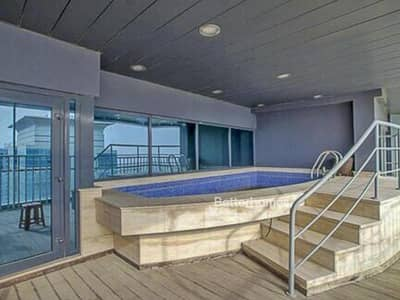 5 Bedroom Penthouse for Sale in Jumeirah Lake Towers (JLT), Dubai - Penthouse with a private swimming pool