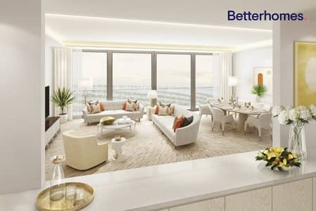 Studio for Sale in Palm Jumeirah, Dubai - Off Plan - Studio - Sea and Palm view