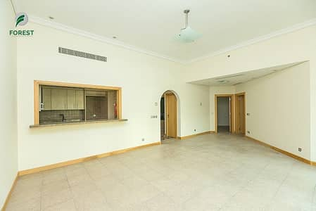 2 Bedroom Apartment for Rent in Palm Jumeirah, Dubai - Full Sea View  Fully Furnished Beach Access  1 Bed