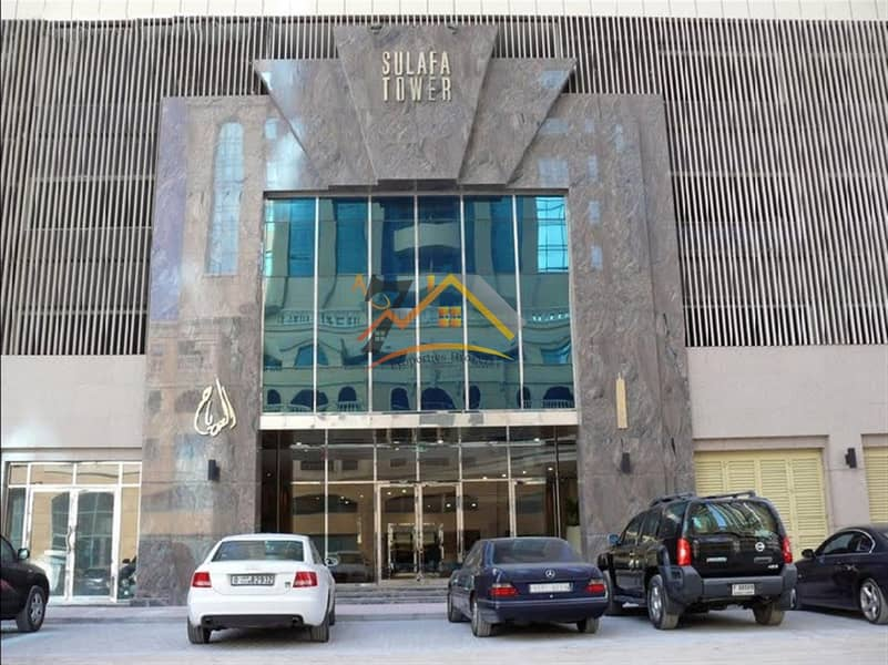 3BR WITH MAID'S FOR RENT AT SULAFA TOWER WITH PARKING FULL FACILITY BUILDING