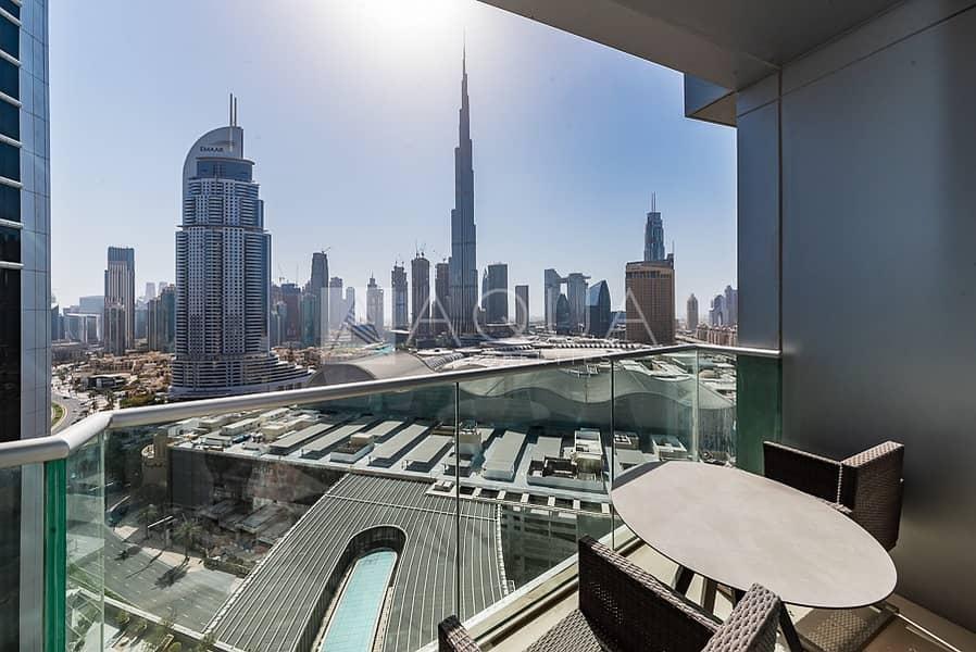 Stunning Burj Khalifa View | Fully Furnished