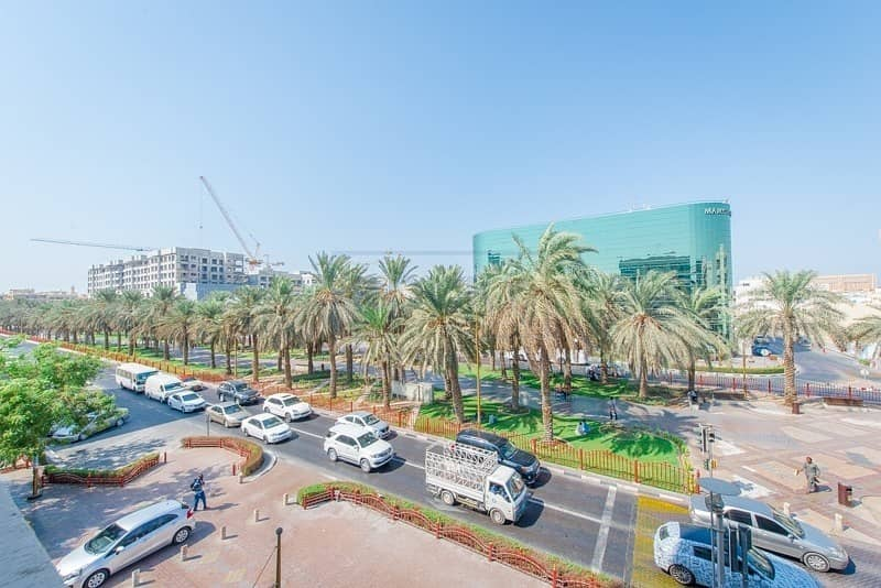 21 Very Spacious Studio Apt with Central Split A/C & Parking |  Deira