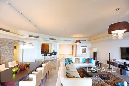 3 Bedroom Flat for Sale in Palm Jumeirah, Dubai - Huge Terrace  Full Sea View   Large Layout