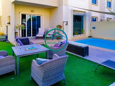 فیلا 5 غرف نوم للبيع في الريف، أبوظبي - Own This Stylish Villa with Private Pool! Don't Pay ADM Charges