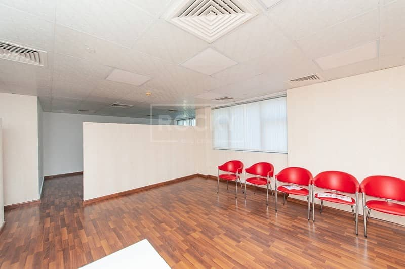 Fitted Office | 2 Parking | with Pantry | Business Bay