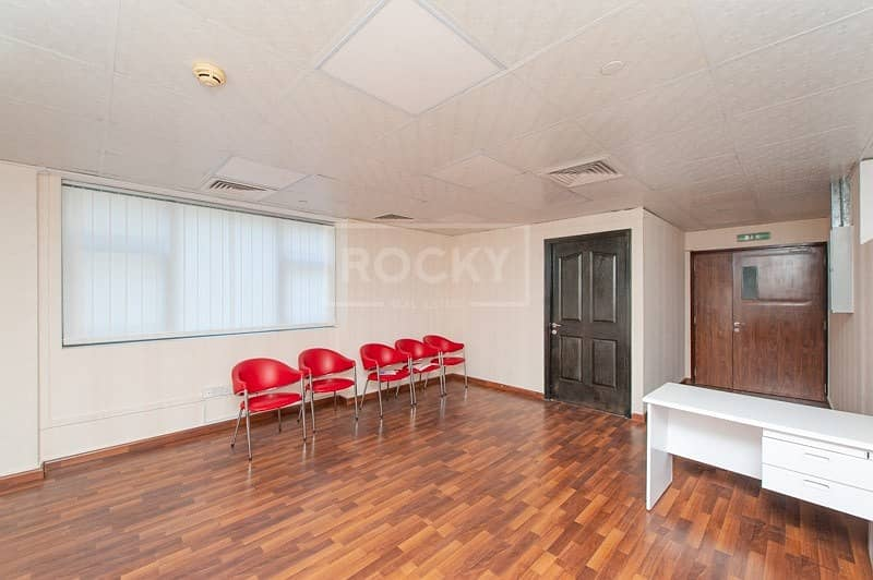 2 Fitted Office | 2 Parking | with Pantry | Business Bay