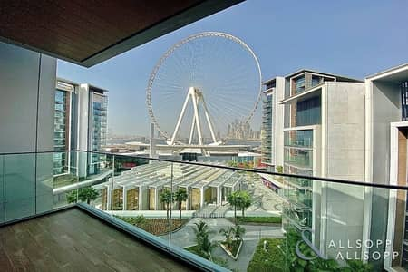 1 Bedroom Apartment for Rent in Bluewaters Island, Dubai - 1 Bedroom   Unfurnished   Dubai Eye Views