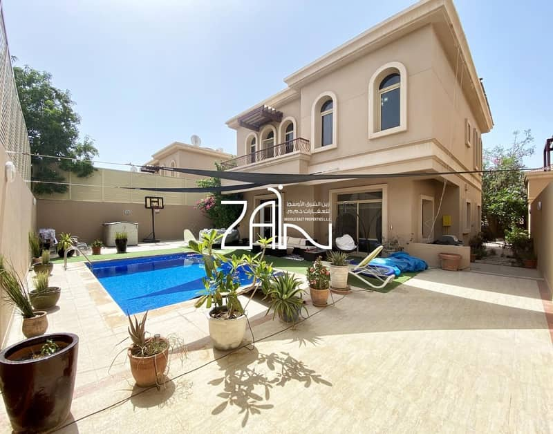 No ADM FEE! Vacant 4 BR Villa with Pool Well Maintained