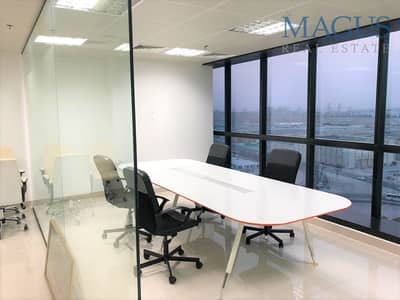 Office for Rent in Jumeirah Lake Towers (JLT), Dubai - Spacious Fitted Office | JBC4 |