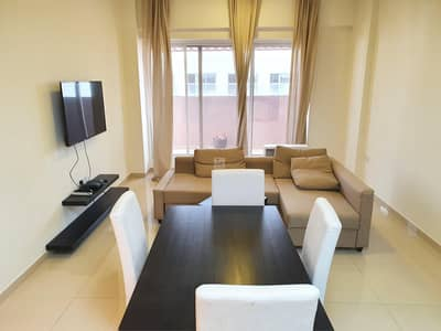 1 Bedroom Apartment for Rent in Jumeirah Village Circle (JVC), Dubai - Big Layout | Furnished | 12 Chqs | Chiller Free