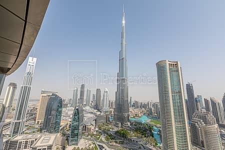 3 Bedroom Apartment for Rent in Downtown Dubai, Dubai - 3BR Apartment | Furnished | Sky Views T2