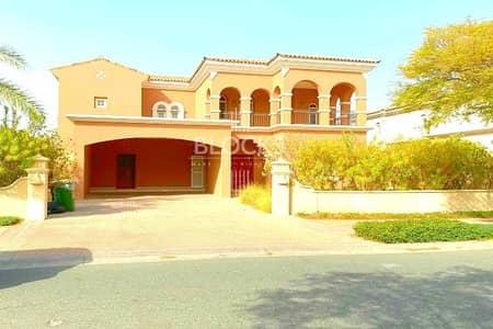 فیلا 5 غرف نوم للايجار في المرابع العربية، دبي - Private pool