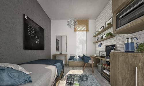 استوديو  للايجار في المدينة الأكاديمية، دبي - Student Accommodation | Studio Room - Male Block | The Myriad Dubai