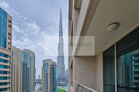 2 Bedroom Flat for Rent in Downtown Dubai, Dubai - Boulevard Central - 2 BR w/ Burj and Fountain View