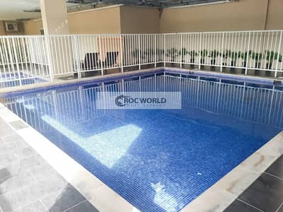 2 Bedroom Apartment for Rent in Jumeirah Village Circle (JVC), Dubai - Chiller Free | Semi-Furnished | Well-Maintained | Big 2 Bedroom  Apartment