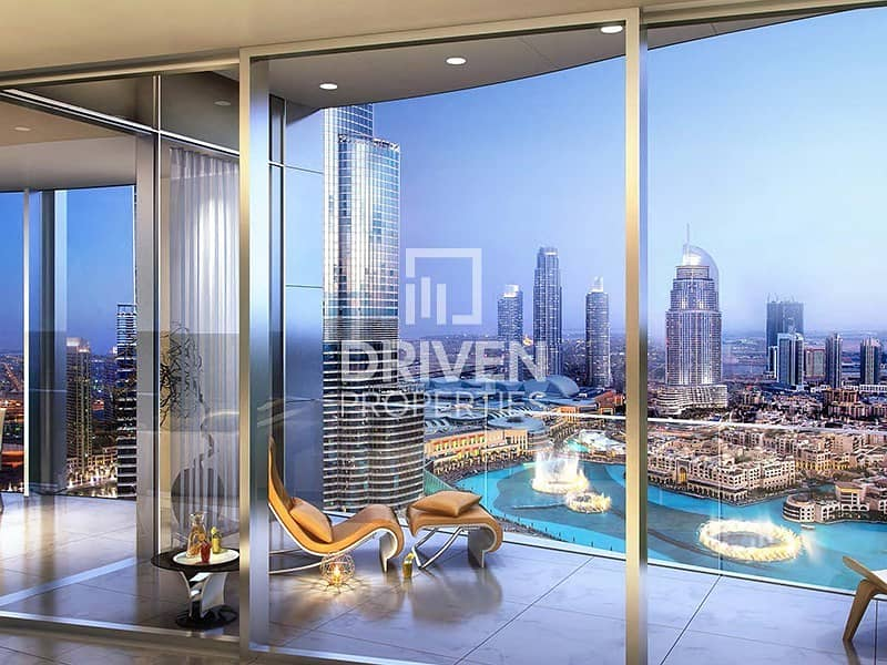 17 Luxurious 4 Bed Apartment in Downtown Duba