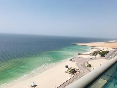 1 Bedroom Apartment for Sale in Corniche Ajman, Ajman - Full seaview apartment for sale on monthly installment( Direct From Owner)