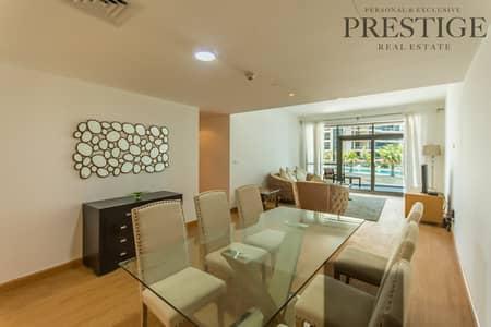 فلیٹ 3 غرف نوم للبيع في دبي مارينا، دبي - 3 Bed | Marina Terrace | Marina Walk | Low-Floor