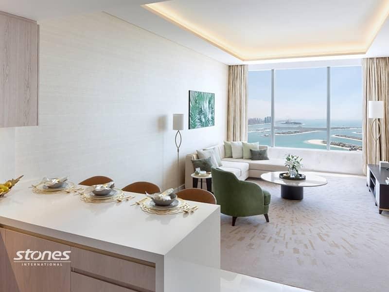 Bright and Spacious Studio with Dubai Skyline View