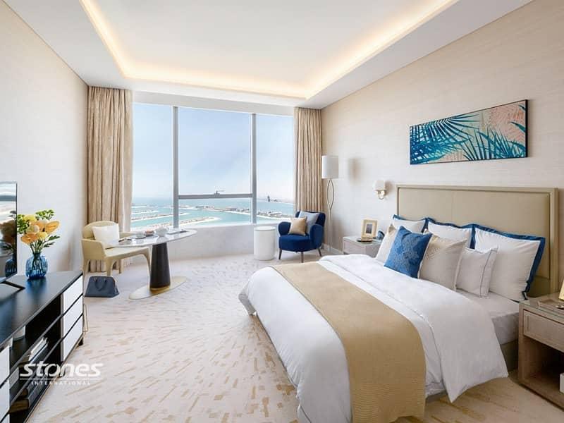 2 Bright and Spacious Studio with Dubai Skyline View