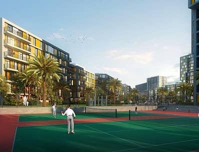 1BR in Dubai Production City / Jumeirah Golf Estates view