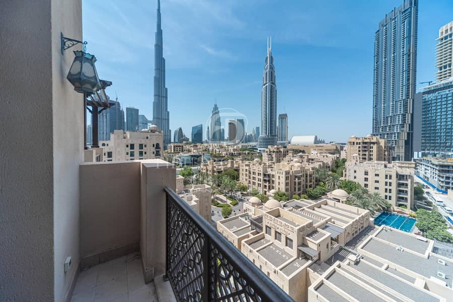 Stunning Penthouse in Reehan Burj and City View