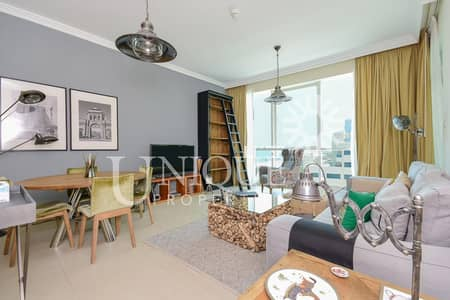 1 Bedroom Apartment for Sale in Jumeirah Beach Residence (JBR), Dubai - Beautifully furnished Sea View 1 bed in Al Bateen