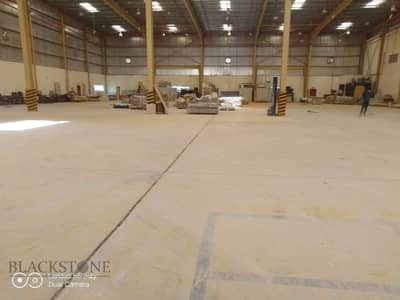 مستودع  للايجار في جبل علي، دبي - Warehouse and Office with a huge Open Yard in Jebel Ali Freezone