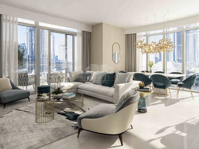 2 Bedroom Apartment for Sale in Downtown Dubai, Dubai - Grande by Emaar   50/50 Payment Plan   3 Years Post pay